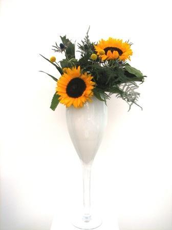 Balie bloemstuk
